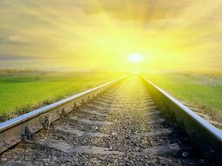 Собирать пазл Дорога к солнцу онлайн