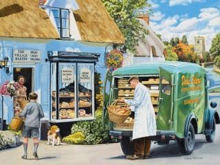 Собирать пазл Доставка хлеба онлайн