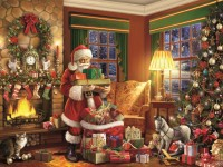 Собирать пазл Доставка подарков онлайн