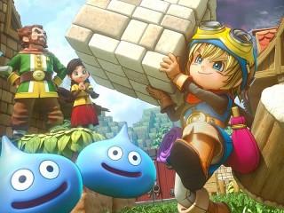 Собирать пазл Dragon Quest Builder онлайн