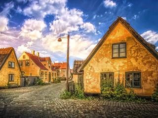 Собирать пазл Драгёр Дания онлайн