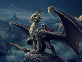 Собирать пазл Дракон онлайн