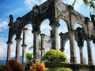 Собирать пазл Древние развалины онлайн
