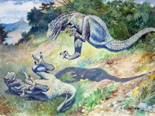 Собирать пазл Дриптозавры онлайн
