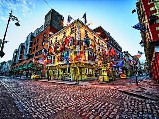 Собирать пазл Дублин Ирландия онлайн
