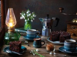 Собирать пазл Две чашки кофе онлайн