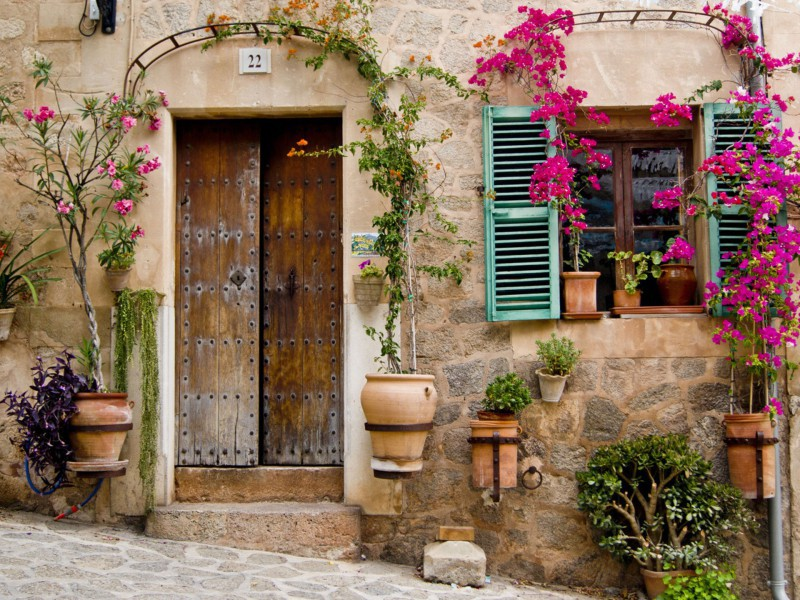 Пазл Собирать пазлы онлайн - Дверь и окно