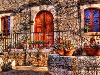 Собирать пазл Дверь в добрый дом онлайн