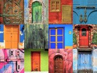 Собирать пазл Двери онлайн