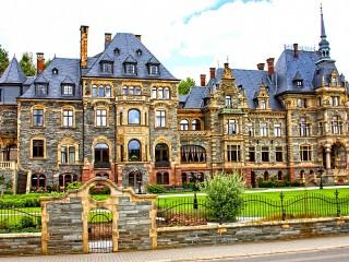 Собирать пазл Дворец в Лизере онлайн