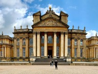 Собирать пазл Дворец в Оксфордшире онлайн