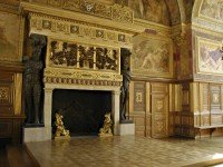 Собирать пазл Дворцовый камин онлайн