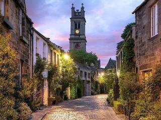 Собирать пазл Эдинбург онлайн