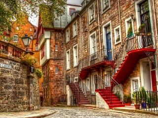 Собирать пазл Эдинбург Шотландия онлайн