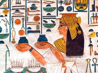 Собирать пазл Египетская фреска онлайн