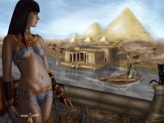 Собирать пазл Египетская царица онлайн