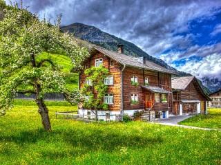 Собирать пазл Эльм Швейцария онлайн