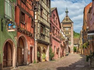 Собирать пазл Эльзас Франция онлайн