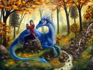 Собирать пазл Эй дракон собери сам онлайн