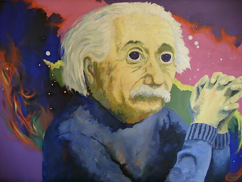 Пазл Собирать пазлы онлайн - Эйнштейн