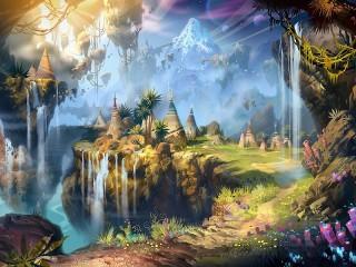 Собирать пазл Fantasy art онлайн