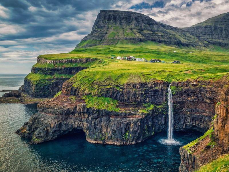 Пазл Собирать пазлы онлайн - Фарерские острова