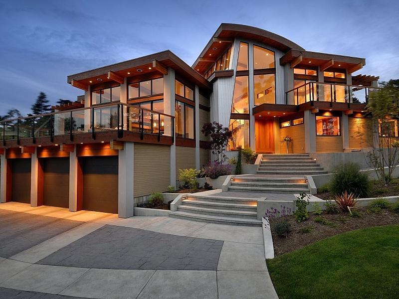 Пазл Собирать пазлы онлайн - Фасад дома