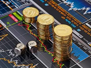 Собирать пазл Финансовая диаграмма онлайн