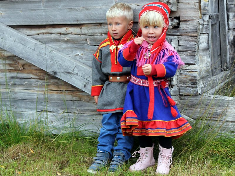 Пазл Собирать пазлы онлайн - Финские саамы