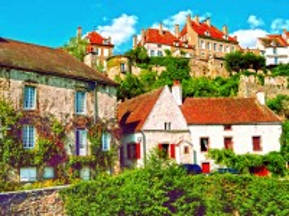 Собирать пазл Флавиньи Франция онлайн