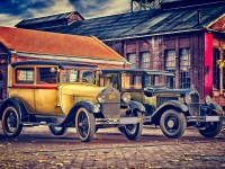 Собирать пазл Форд ретро онлайн