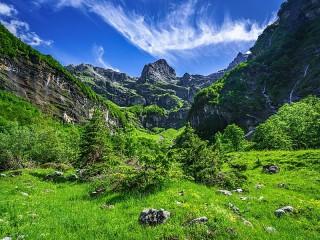Собирать пазл Французские Альпы онлайн
