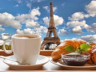 Собирать пазл Французский завтрак онлайн