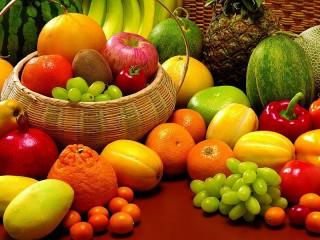 Собирать пазл Фрукты. Ягоды. Овощи онлайн