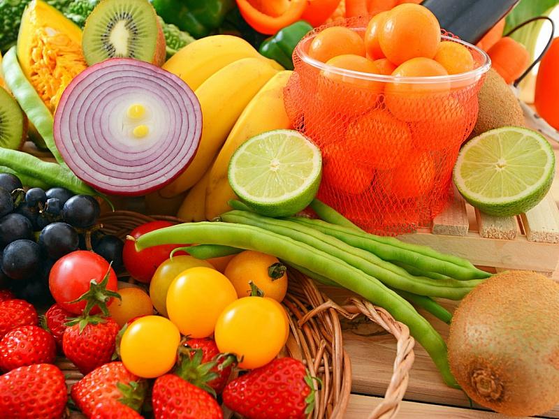 Пазл Собирать пазлы онлайн - Фрукты и овощи