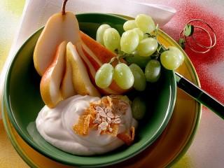 Собирать пазл Фруктовый десерт онлайн