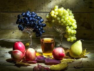 Собирать пазл Фруктовый сок онлайн