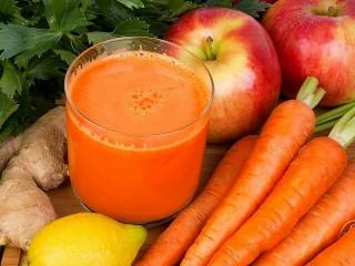 Собирать пазл Фруктово-овощной сок онлайн