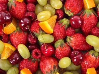 Собирать пазл Фруктово-ягодный микс онлайн