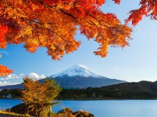 Собирать пазл Фудзияма онлайн