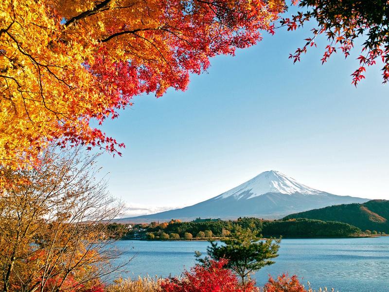Картинки по запросу японские пейзажи осень фото