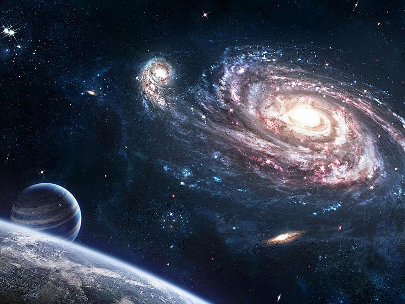 Пазл Собирать пазлы онлайн - Галактика