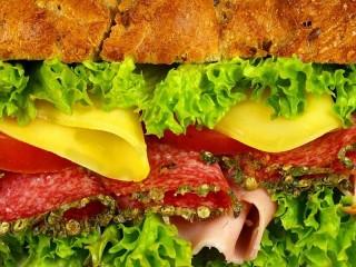 Собирать пазл Гамбургер онлайн