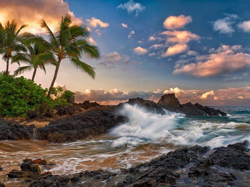 Пазл Собирать пазлы онлайн - Гаваи Тихий океан