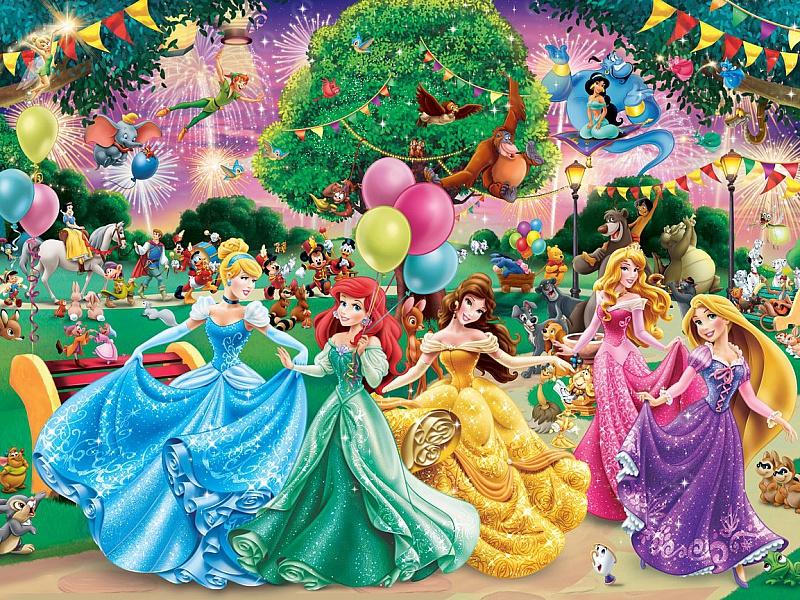 Пазл Собирать пазлы онлайн - Герои Disney