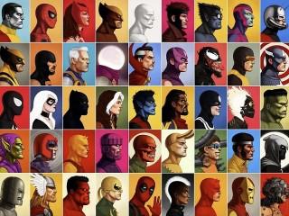 Собирать пазл Герои комиксов онлайн