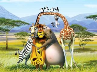 Собирать пазл Герои Мадагаскара онлайн