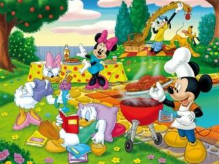 Собирать пазл Герои мультфильмов онлайн