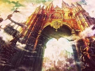 Собирать пазл Гигантская арка онлайн