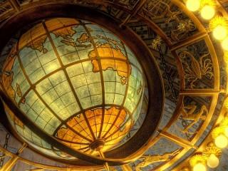 Собирать пазл Глобус онлайн